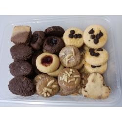 Bezlepkové čajové sušenky