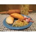 Bezlepkový piroh Liška - s kysaným zelím a slaninou