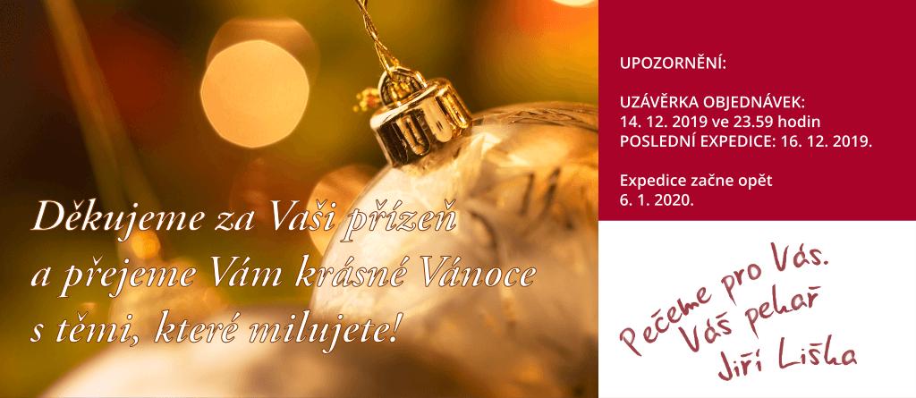 Děkujeme za Vaši přízeň a přejeme Vám krásné Vánoce s těmi, které milujete!