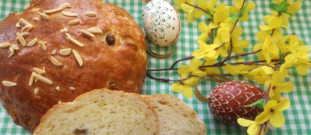 Velikonoční máslový mazanec od Lišky