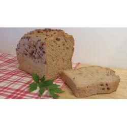 Bezlepkový chléb Liška - Kmínový se lněným a slunečnicovým semínkem